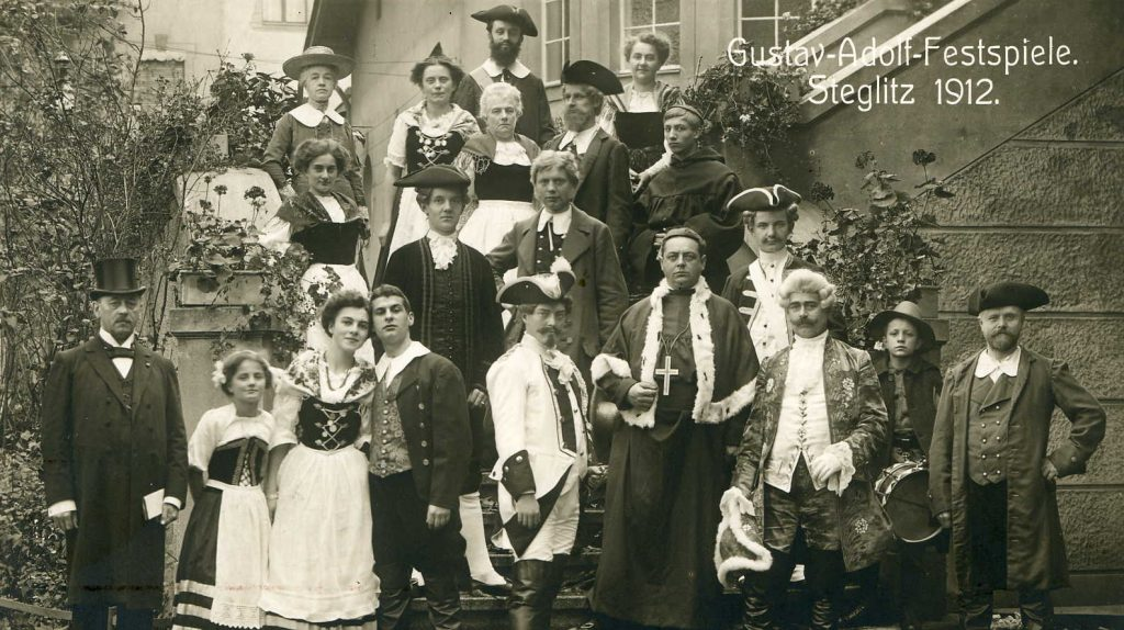 Gustav-Adolf-Festspiele 1912 (Quelle Steglitz Museum Archiv Pk-1825)