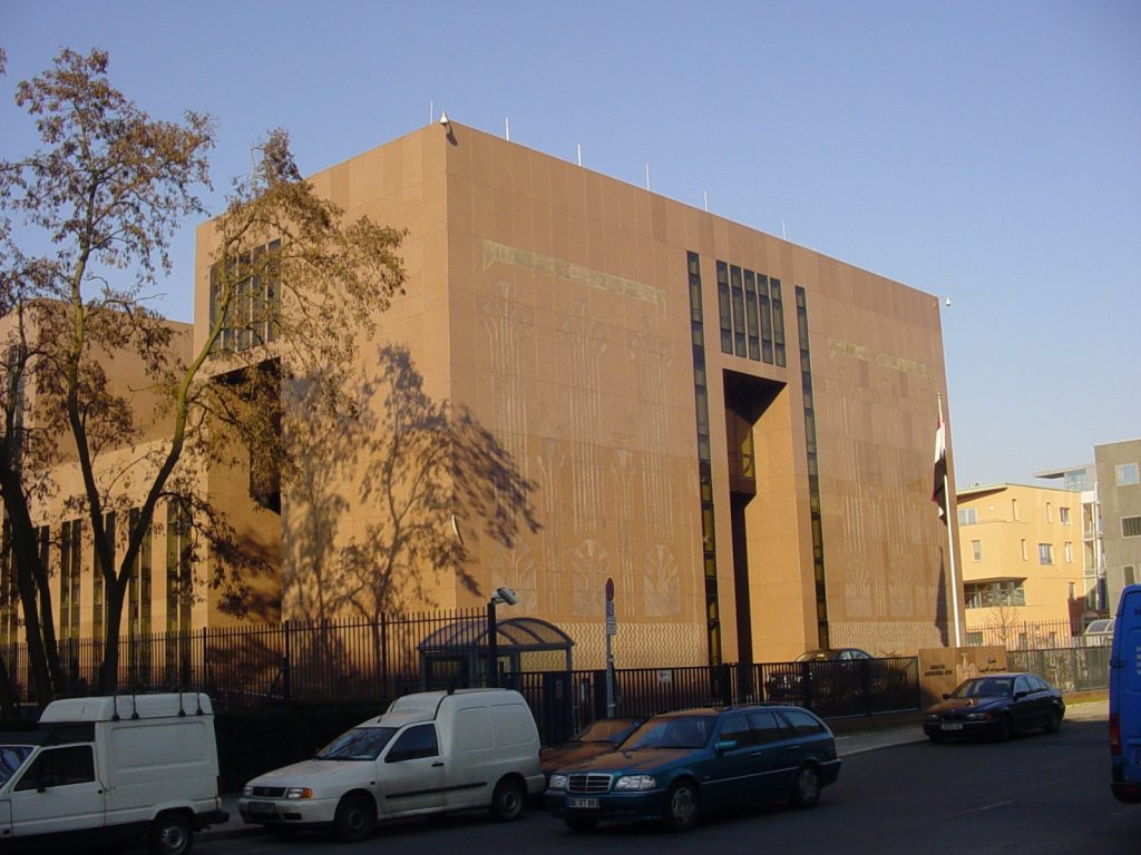 Ägyptische Botschaft in Berlin   Foto: Christian Simon