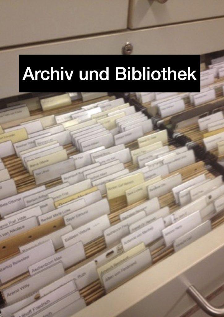 Archiv / Bibliothek