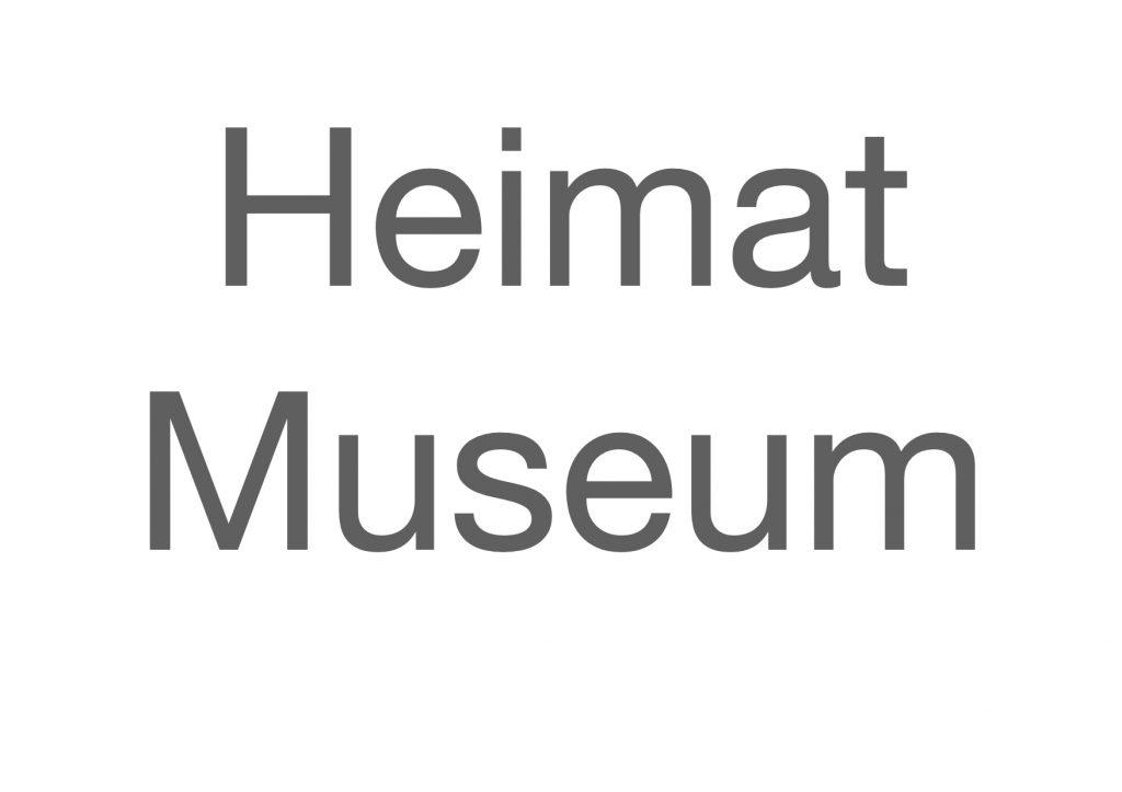 Heimat Museum gestalten