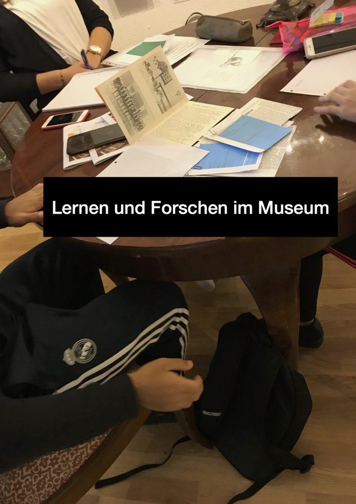 Lernen &  Forschen im Museum