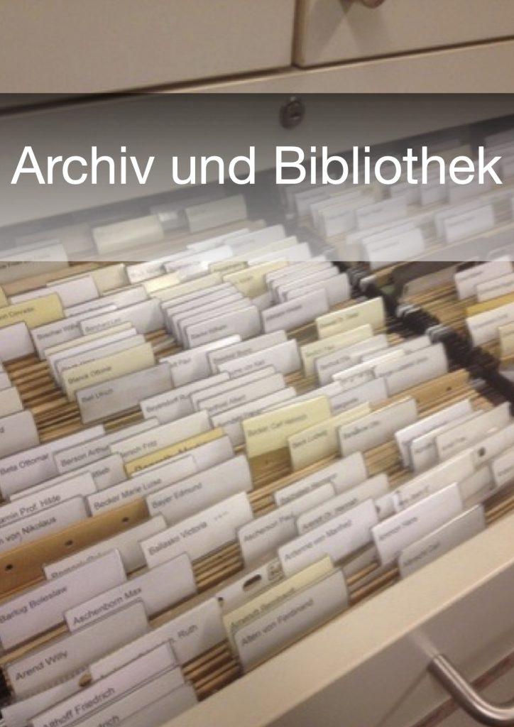 Archiv & Bibliothek